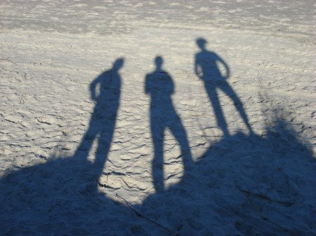 Backpackers Shadows