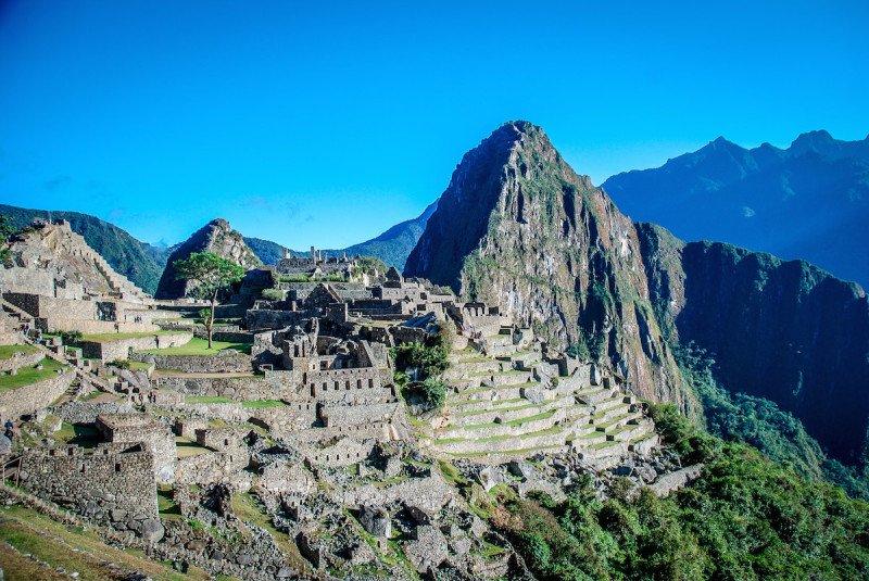 Machu Picchu South America Peru Mayan Maya Ancient Ruins UNESCO