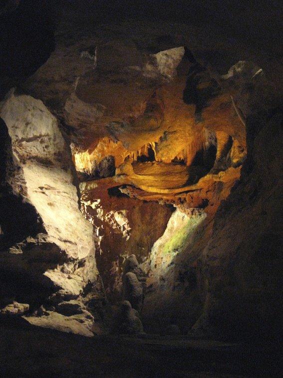 Skyline Caverns Cave Underground Virginia