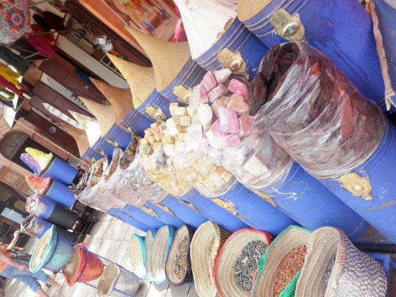 Spices at the Spice Market in Zanzibar Africa.