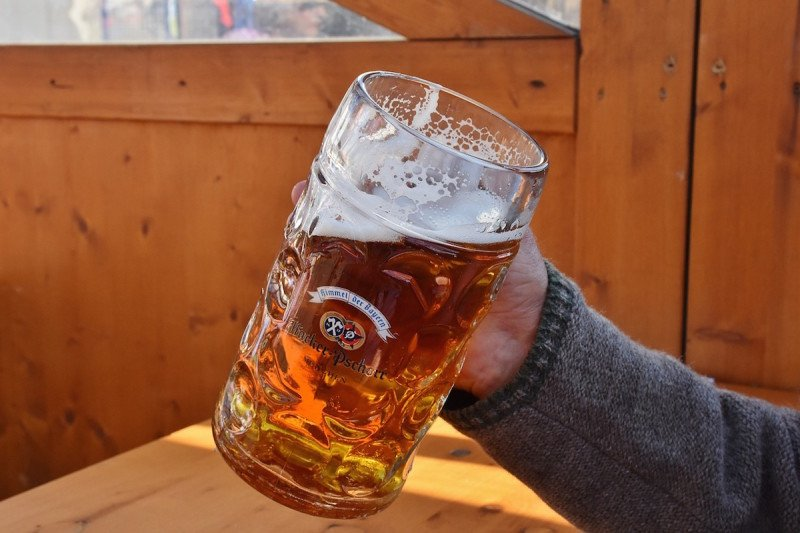 Beer Garden Mug Glass Brew