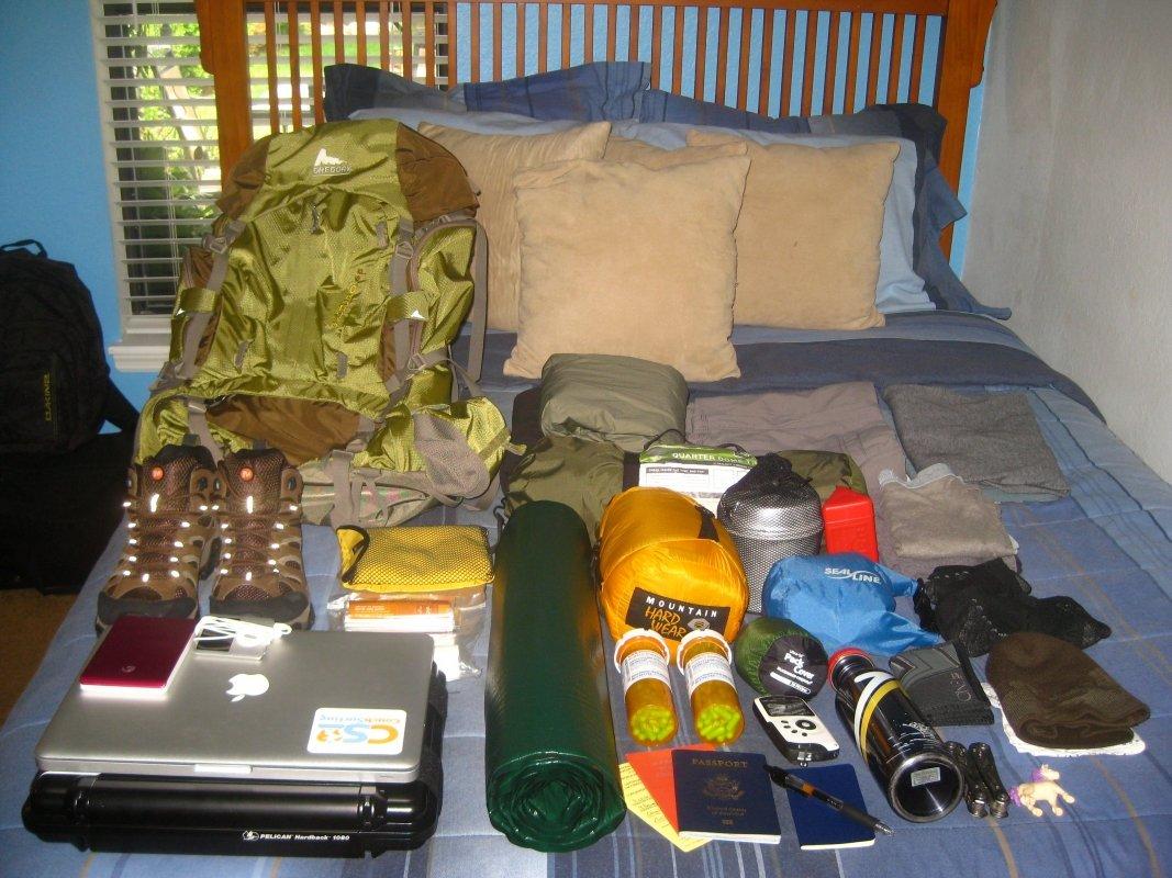 Around the World: Essential Outdoor Gear | Packing List