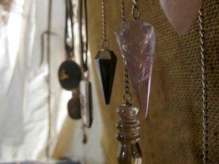 Assorted Pendulum's Witchcraft at the Pagan Festival in Ocala, Florida