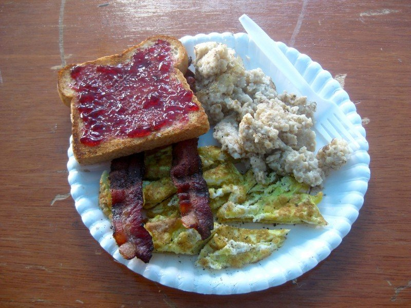 A Simple Breakfast Witchcraft at the Pagan Festival in Ocala, Florida
