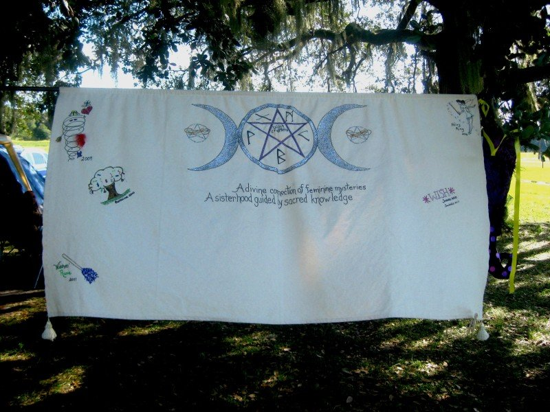 Braw Tree Witchcraft at the Pagan Festival in Ocala, Florida