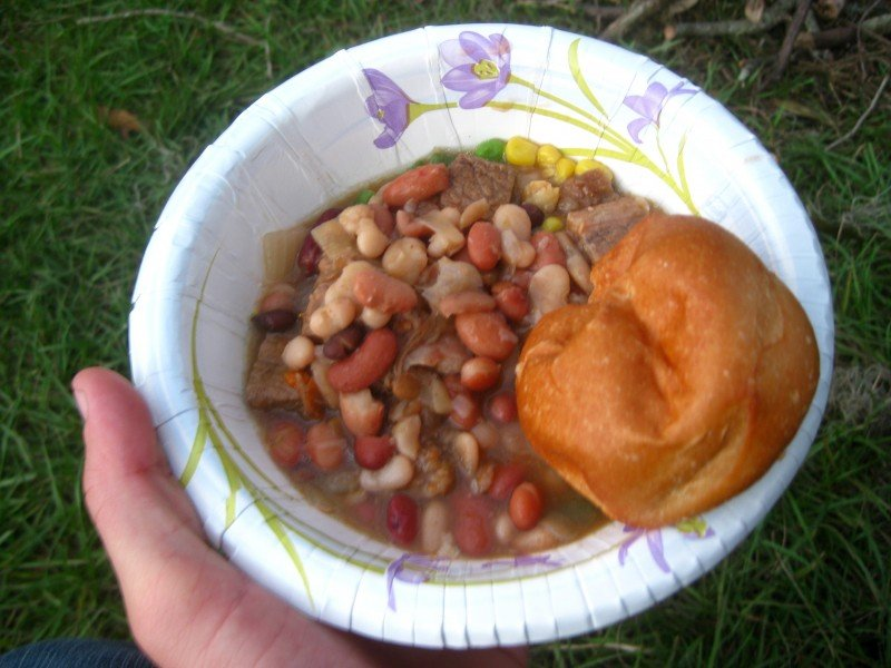 Homemade Beef Stew Witchcraft at the Pagan Festival in Ocala, Florida