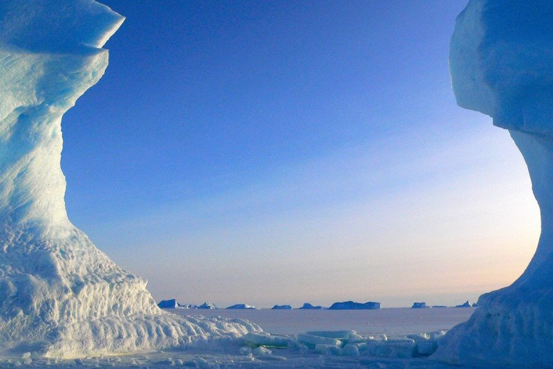 Frozen in Time - Sunsets in the South Pole