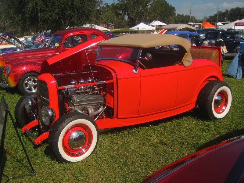 The Castrol Antique Car Show in Florida
