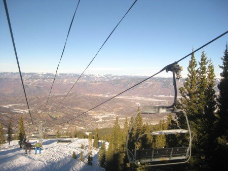 Skiing the Trail Map in Snowmass Mountain