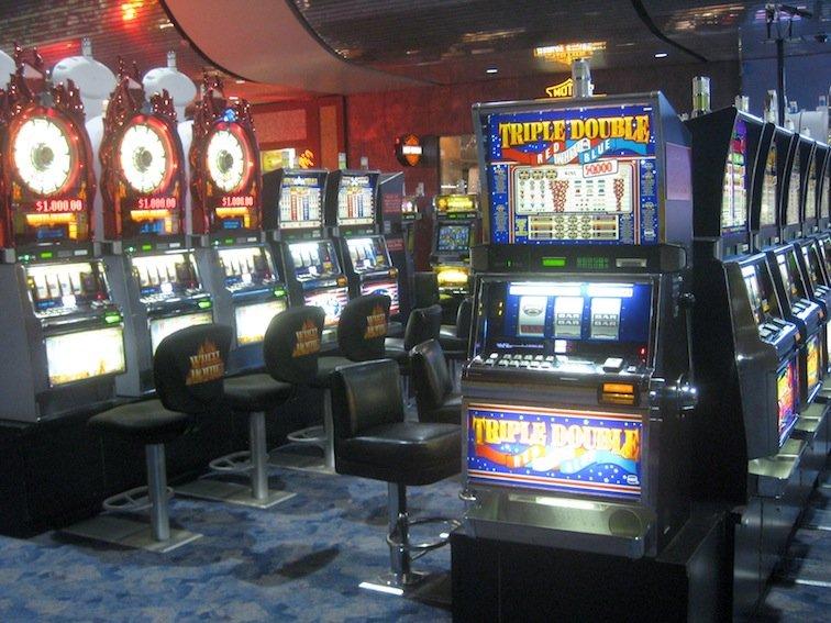 Vegas casino slot machine odds