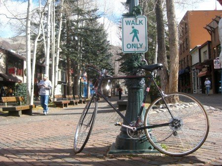 Bicycle in Aspen Colorado