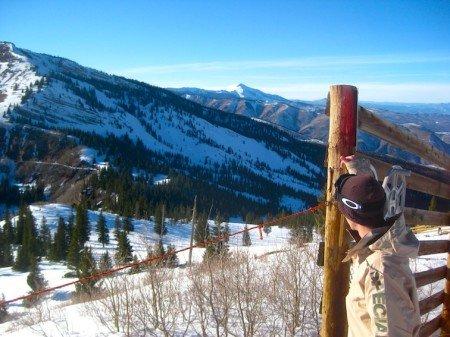 Enjoying Snowmass Mountain