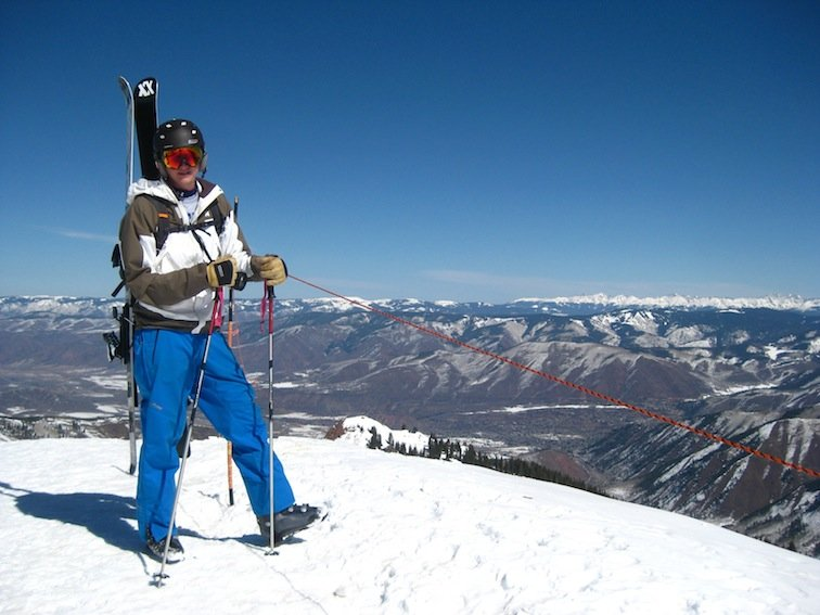 Hiking the Highlands Bowl in Aspen, Colorado