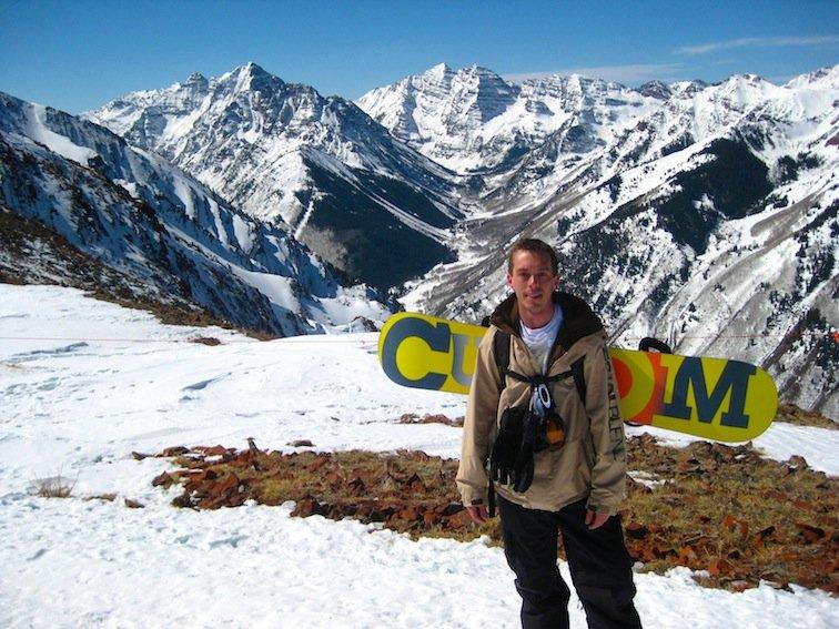 Highlands Bowl aspen colorado snowboarding snow