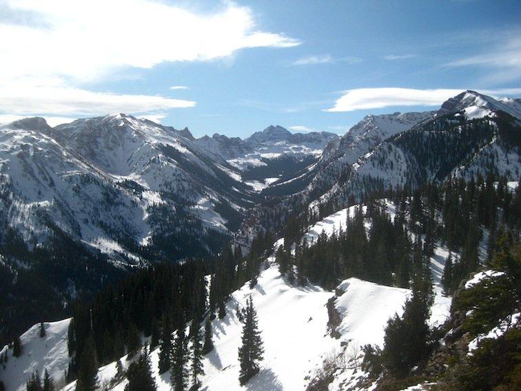 Aspen at 13,000 feet