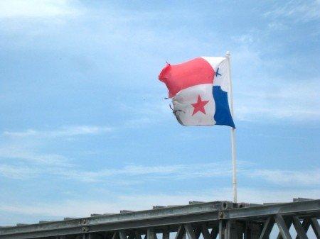 Panama Flag Wind Caribbean