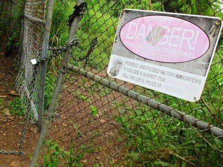 DANGER: EXPLOSIVES Puerto Rico