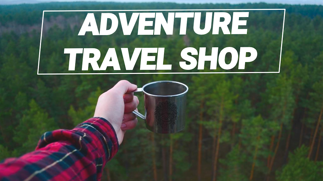 Adventure travel shop - outdoor travel gear