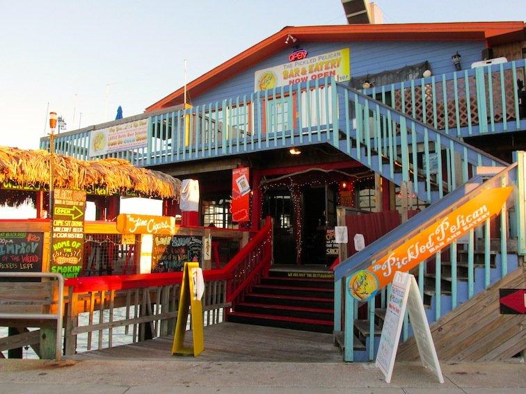 Black Dog Bar & Tables Entrance