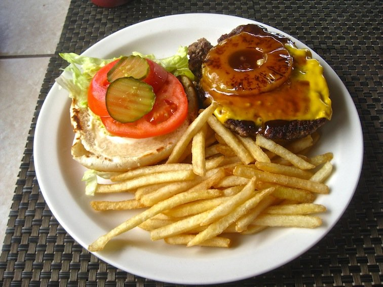 Mango Burger