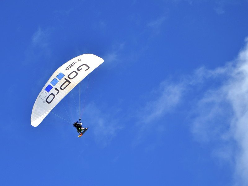 Skydiving Paragliding Extreme Sports GoPro Aspen