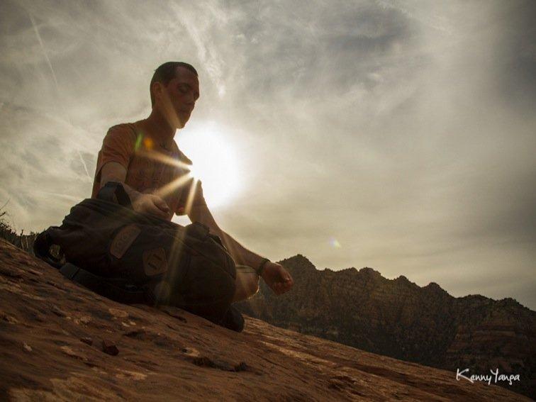 Meditation at Bell Rock