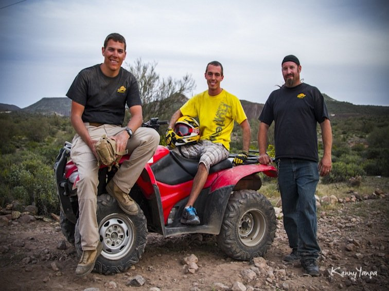 Arizona Outdoor Tours Crew