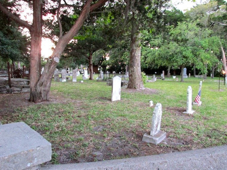 First Haunted Cemetery