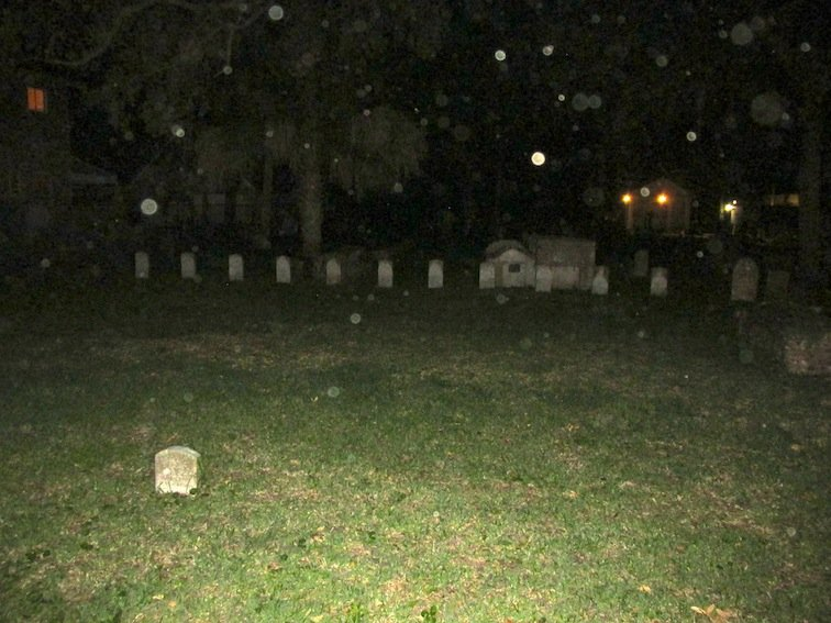 Second Haunted Cemetery