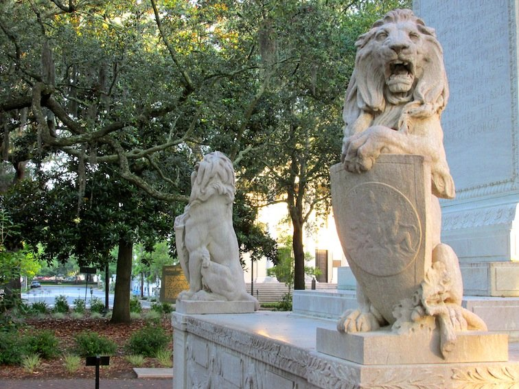 Lion at the Square