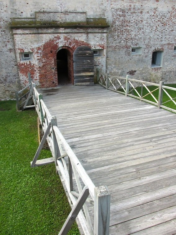 Fort Macon Entrance