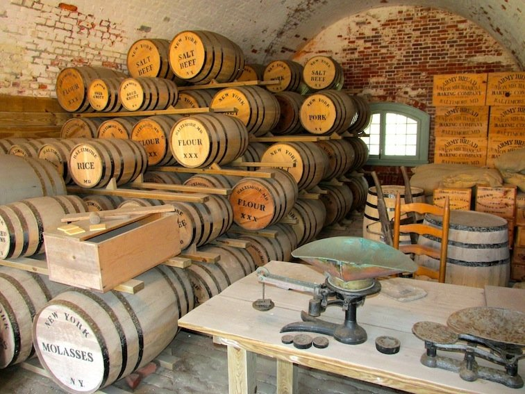 Fort Macon Storage Cell