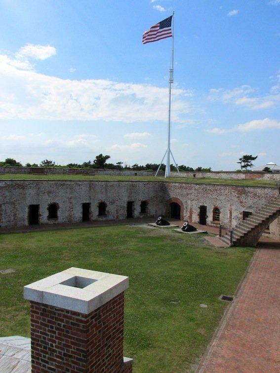 Fort Macon Courtyard