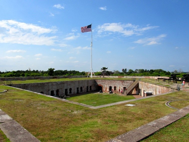 Fort Macon Courtyard 2