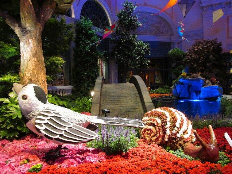 Flower Bird & Snail
