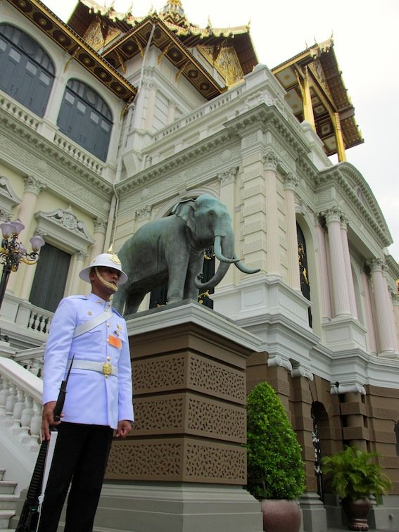 Guard Outside of Grand Palace