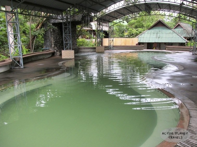 Hot Springs Pool Thailand