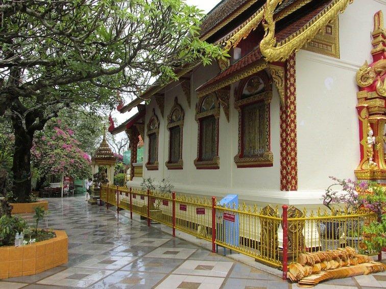 Doi Suthep Mountain Temple Thailand