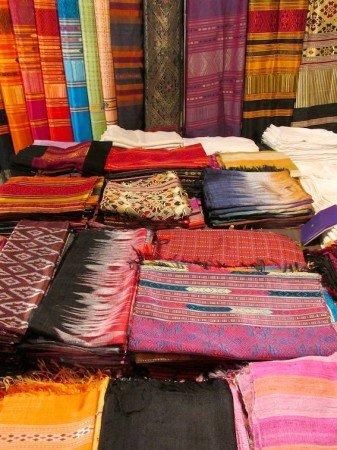 Chiang Mai Night Market Thailand Cloth