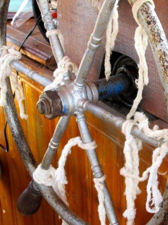 Boat Captain Wheel