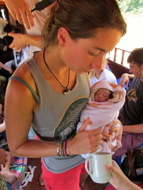 Laos Baby Mekong River Cruise Doctor