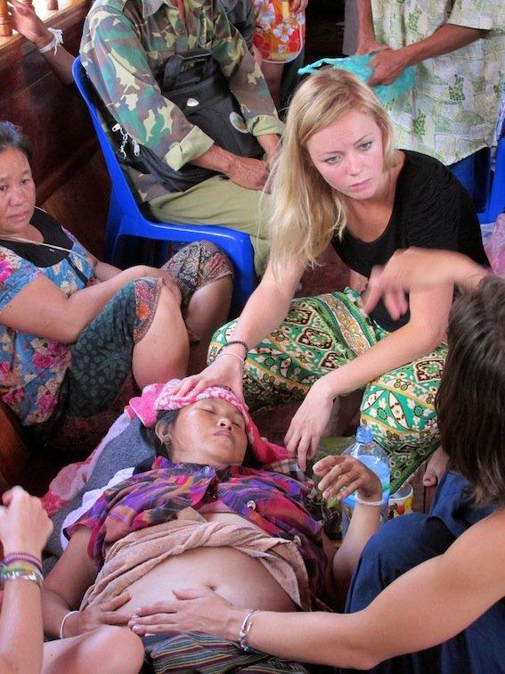 Slow boat Cruise Mekong Laos Baby Doctor
