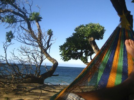 Hawaii Surf Beach Ocean Hammock Maui
