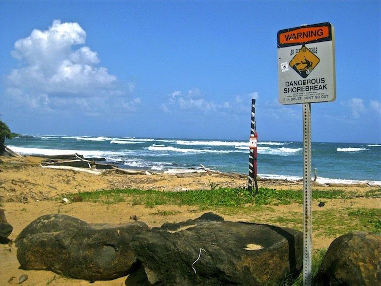 Hawaii Surf Beach Ocean Kauai