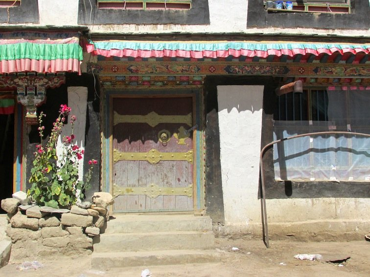 China Asia Backcountry Tibet Village