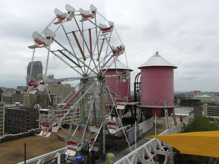 City Museum at St. Louis Missouri Ferris Wheel