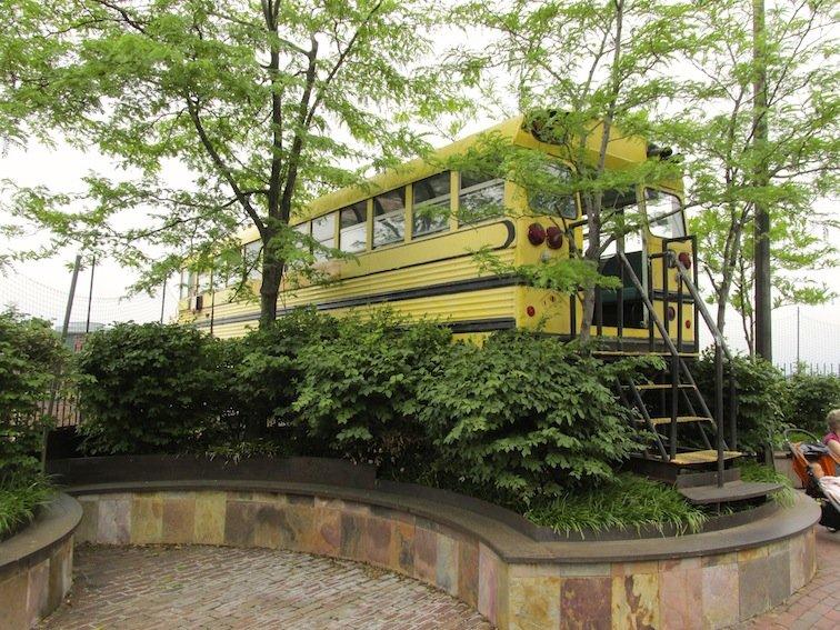 City Museum at St. Louis Missouri School Bus