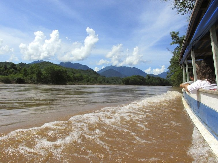 Trekking to Chantanohm Banna Village Northern Laos River