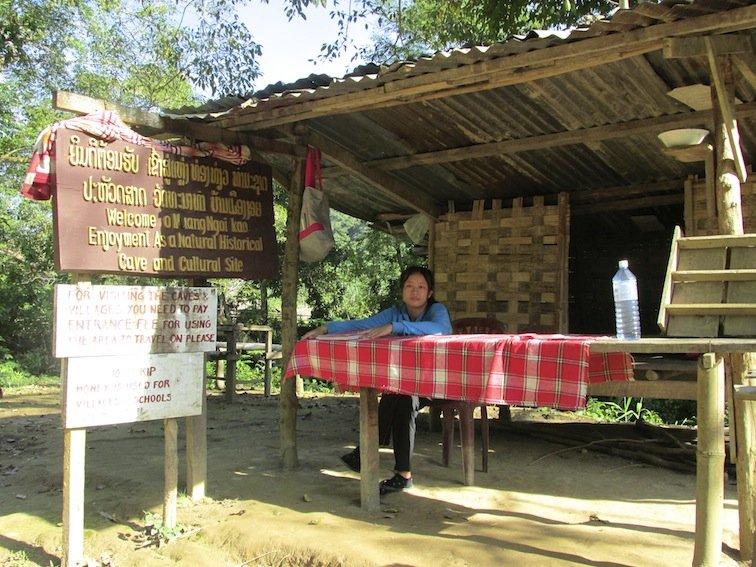 Trekking to Chantanohm Banna Village Northern Laos Ticket Lady