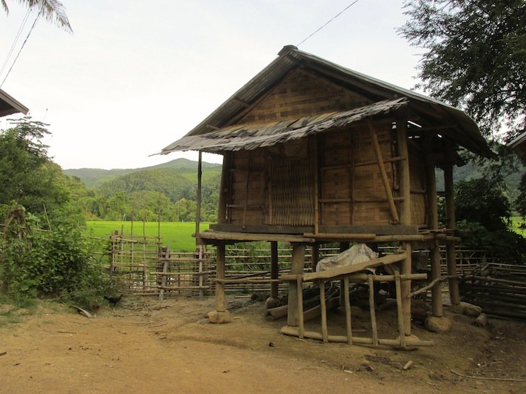 Trekking to Chantanohm Banna Village Northern Laos